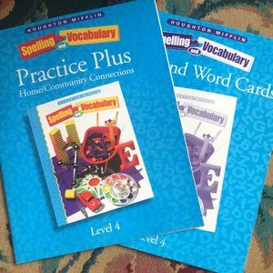 Learning Books for students, grade levels 3-4, New